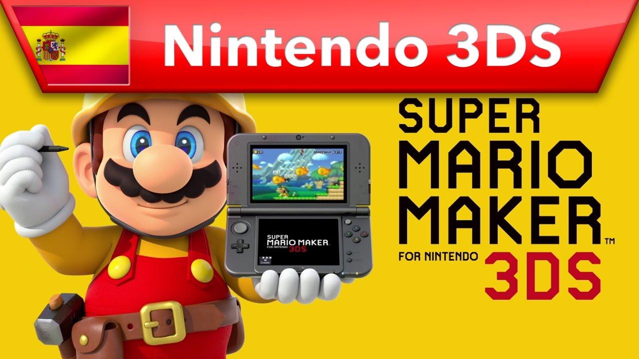 Super Mario Maker Disfruta De Un Juego Casi Infinito Nintendo 3ds