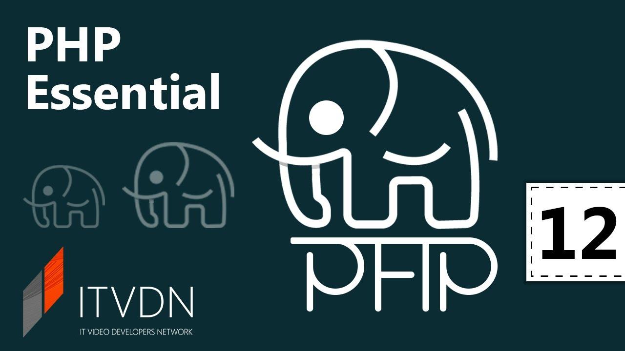 PHP Essential. Урок 12. Обзор баз данных