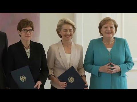 ألمانيا.. كارِنباور تتسلّم وزارة الدفاع خلفاً لفون دير لاين…  - نشر قبل 35 دقيقة
