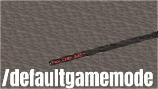Der /defaultgamemode Command | Vanilla Permissions #2