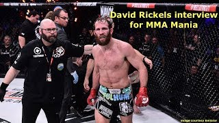 """Caveman"" David Rickels Before ""Bomba"" Vasconcelos at Bellator 210"