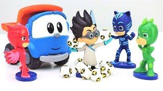 Leo Junior ve Pijamaskeliler oyuncakları kurtarıyor. Çocuk videosu