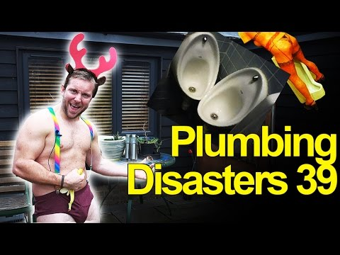 PLUMBING DISASTERS 39 - Christmas - PHOTOS & VIDEOS!