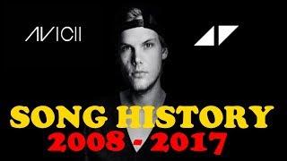 Avicii | Song History (2008 - 2017) | Greatest Hits | ChartExpress