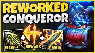 *NEW* CONQUEROR REWORK MASTER YI! HOW BROKEN IS THIS KEYSTONE ON MASTER YI?!? - League of Legends