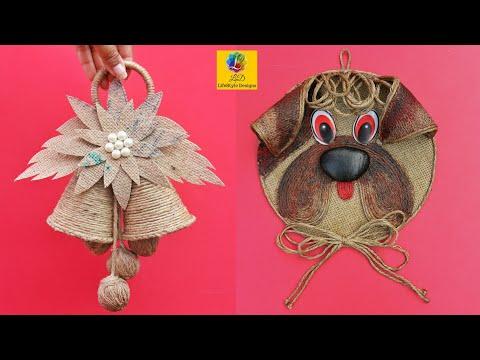 Last Minute Christmas Home Decoration Ideas | Handmade Home Decor with Jute rope | Christmas 2020