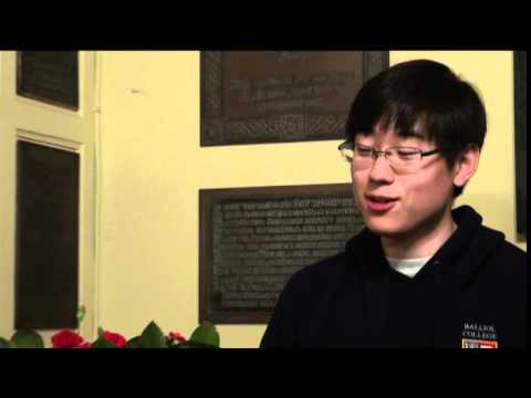 Chan Young Song  - Joint Honours degree  at Oxford University