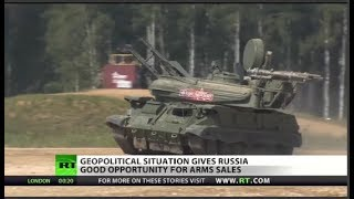 Putin exploiting global anger at US, weapons sales up
