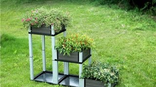 Wpc deck bench planter box, build a flower box outdoor Ethiopia