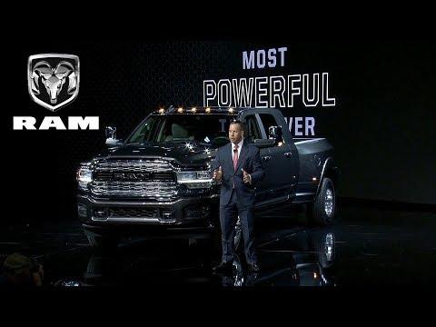 2019 Ram Heavy Duty Reveal Highlights | Detroit Auto Show