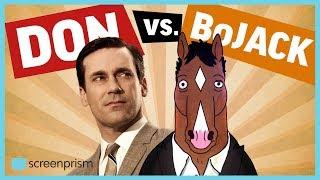 BoJack v. Don Draper - BoJack Horseman and Mad Men Matchup