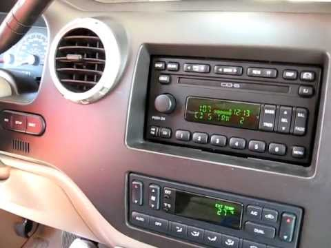 How to Remove Radio / CD Changer from 2003 Ford Expedition for Repair