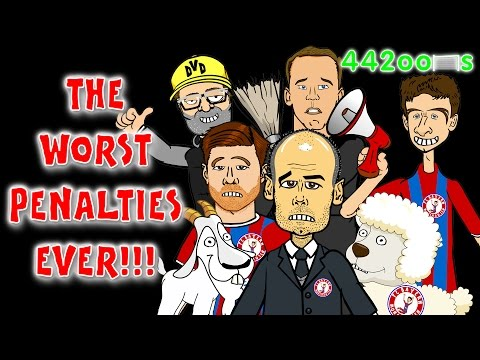 ⚽️😵TERRIBLE PENALTIES😳⚽️Bayern Munich vs Borussia Dortmund Cartoon Parody(2-0 DFB-Pokal Semifinal)