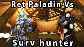 Legion Ret Paladin Vs Surv hunter - Savix Vs Kolltz R1 BR