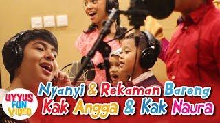 Download Lagu Rekaman bareng Naura & Angga KAU BISA Ost Ice Cream Paddle Pop mp3