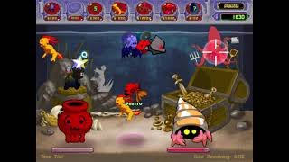 Insaniquarium Deluxe! Revenge of the Fish Time Trial Tank 4 Gameplay