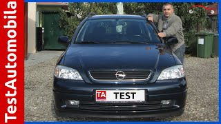 OPEL Astra G karavan 1.6 iz 2002-e TEST