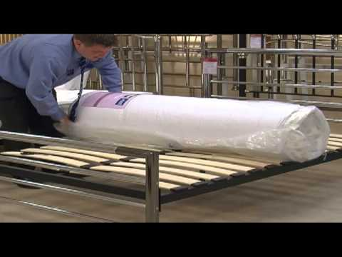 Roll Up Mattresses from Furniture Village YouTube