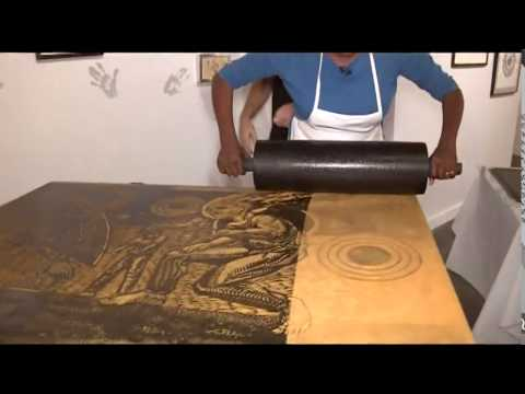 Houston artists create work using ancient art of printmaking