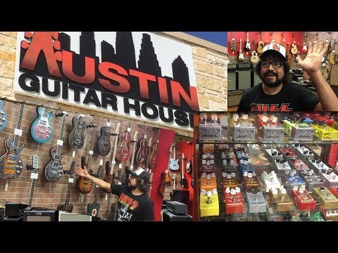 Austin Guitar House - Best Guitar Shop in Texas?