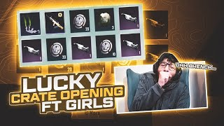 $13K UC QBZ CRATE OPENING | NEW TRICK MUST WATCH | LUCKIEST CRATE OPENING | BABA OP | PUBG MOBILE