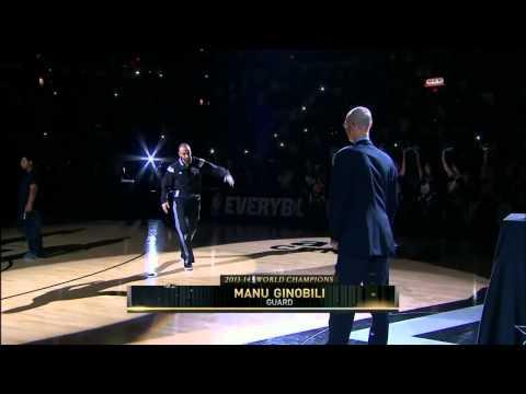 San Antonio Spurs Ring Ceremony