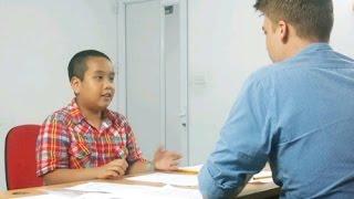 Video Thần đồng Đỗ Nhật Nam nói tiếng Anh như gió