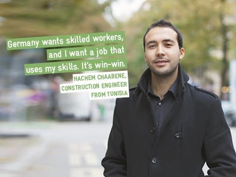 Faces & Stories, Tunisian construction engineer in Germany
