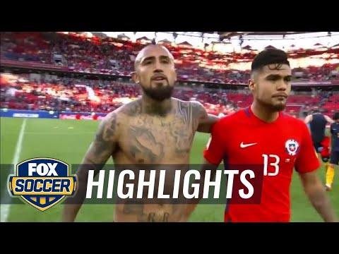 Chile vs. Australia | 2017 FIFA Confederations Cup Highlights
