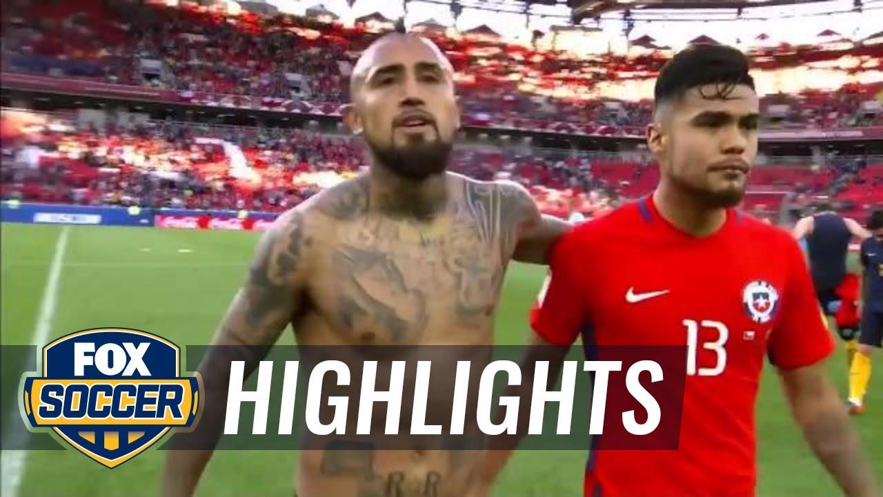 Чили - Австралия 1:1 видео