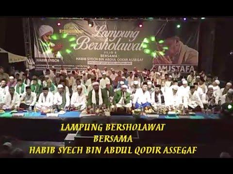 """Habib Syech Rindu Rosul """"ALANGKAH INDAHNYA HIDUP INI"""" LAMPUNG BERSHOLAWAT 2017"""