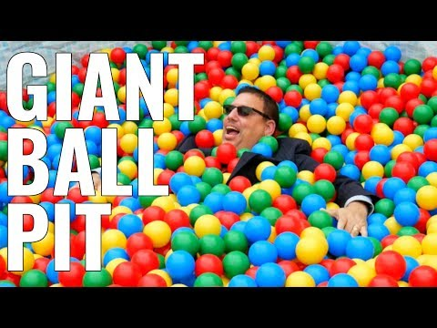 - VIDEO: GIANT BALL PIT DOWNTOWN ORLANDO
