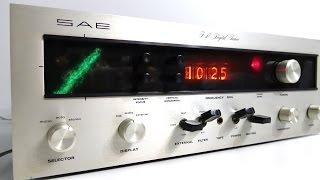 Retro-Tech: SAE Mk6 FM Tuner - My Vintage HiFi holy grail