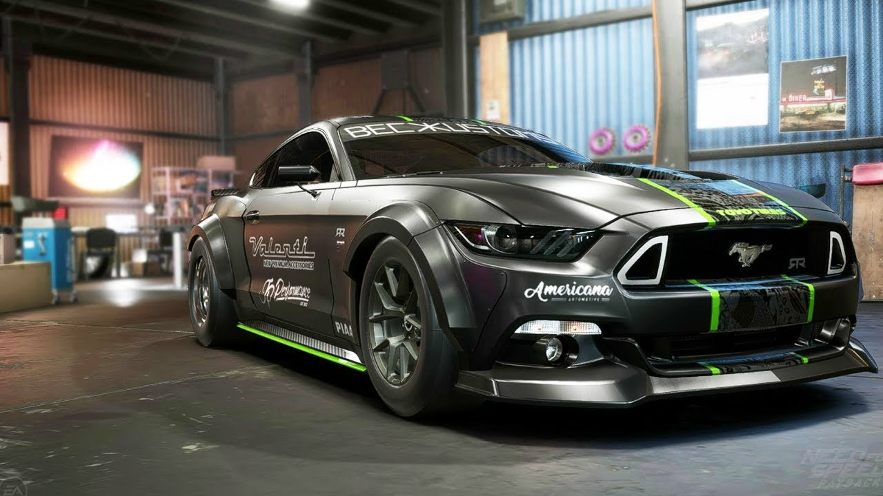 Need for speed payback ford mustang gt drag build