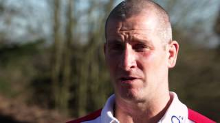 Stuart Lancaster on the England Saxons team to face Ireland Wolfhounds
