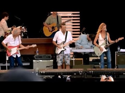 (HD Version) Eric Clapton, Sheryl Crow, Vince Gill, & Albert Lee - Tulsa Time
