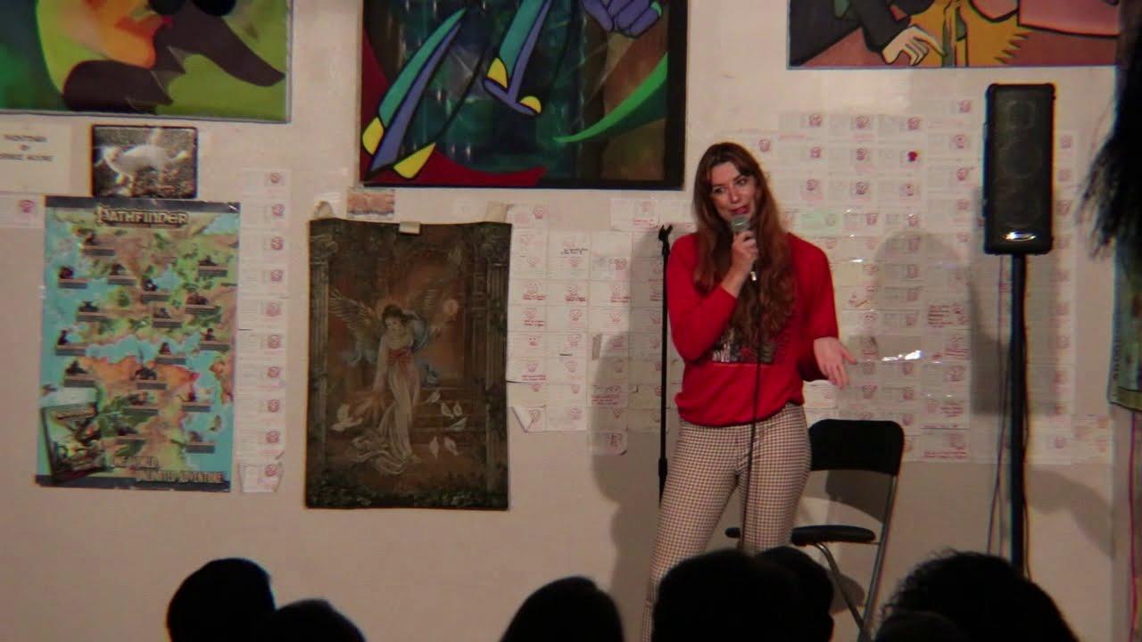 Hayley Beacon standup clip