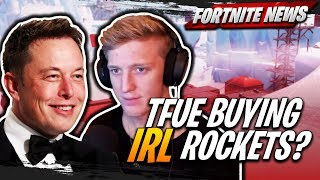 Tfue veut acheter de vraies fusées d'Elon Musk! Optic Gaming QUITS Fortnite! Epic Makes Myth CRY!