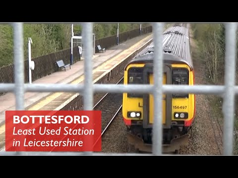 Bottesford - Least Used Station In Leicestershire