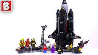 LEGO Batman Movie The Bat-Space Shuttle 70923! | Unbox Build Time Lapse Review