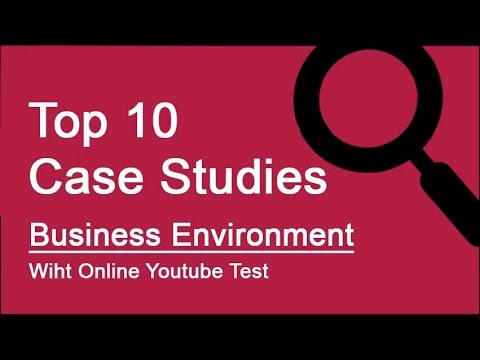 Top 10 Case Studies - Business Environment with Online Test, Class 12 Business Studies