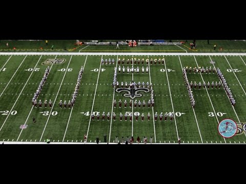 "Talladega College ""Halftime Show"" at New Orleans Saints Football Game 11/13/2016"