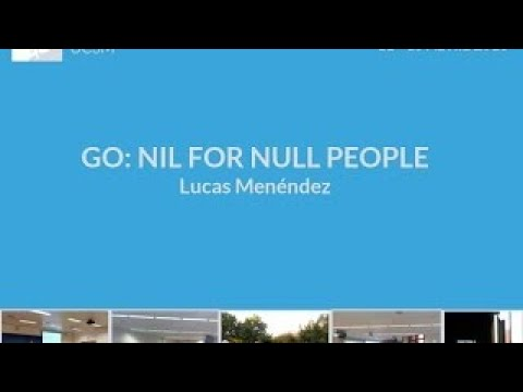 Go: Nil for null people