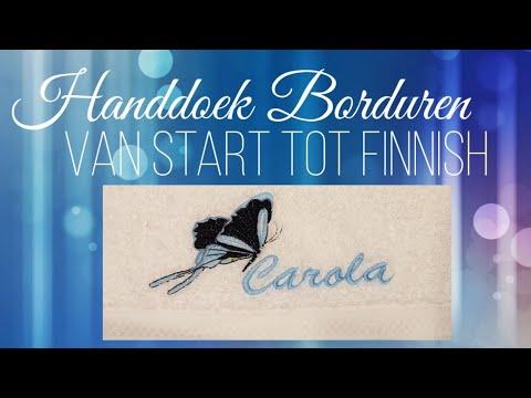 Download Een Handdoek Borduren van Start tot Finnish me een hobby Borduurmachine - Brother Innovis v3