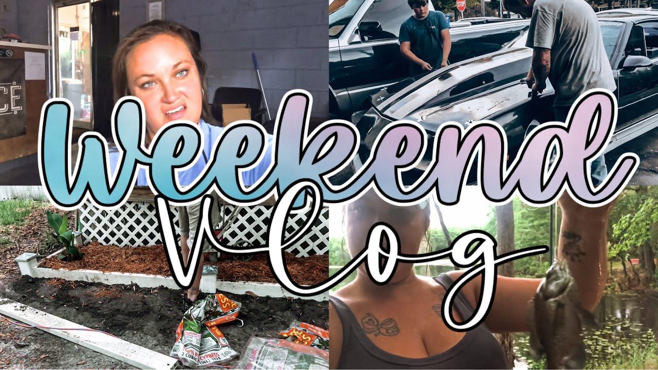 Weekend Vlog | Shop Shenanigans | Gone Fishin'