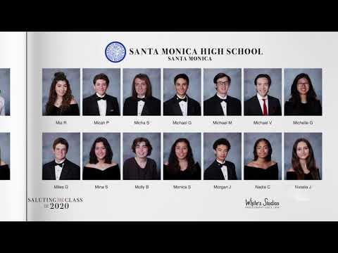 Saluting the Class of 2020 -- Santa Monica High School