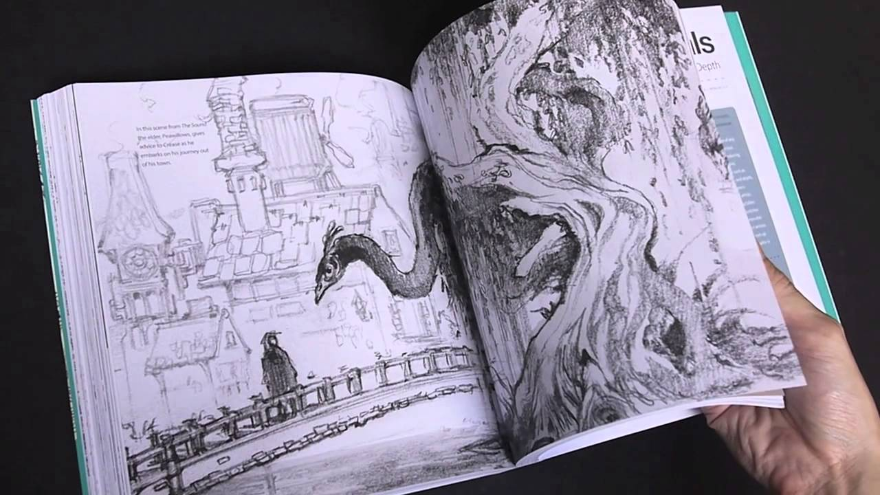 Flip Through Sketching From The Imagination An Insight Into Creative Drawing