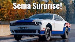 Meet the 2020 Mopar Dodge/SRT Challenger Drag Pak unveiled at SEMA
