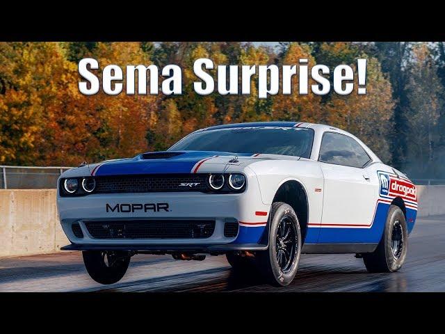 Sema Car Show 2020.Mopar Shows Off Its Supercharged Hemi 2020 Dodge Challenger