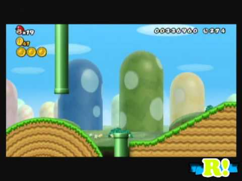 New Super Mario Bros.Wii / Parte 3 / Larry? Las pelotas! Videos De Viajes
